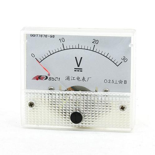 Calibro analogico voltmetro analogico voltmetro analogico 85V1 0-30V di Heschen