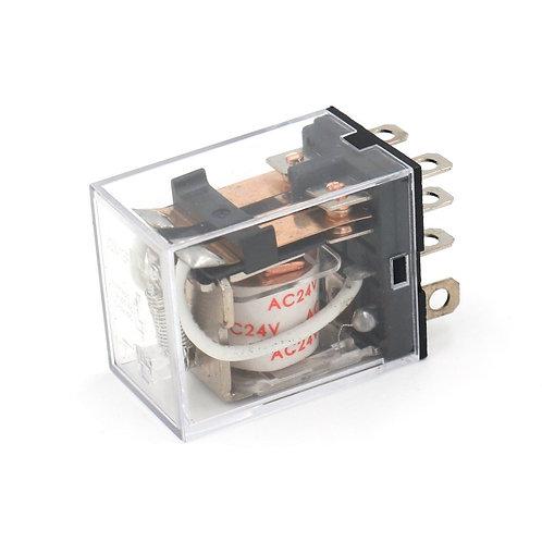 Heschen General Purpose Power Relay JQX-13F AC 24V Coil 8 pin terminal
