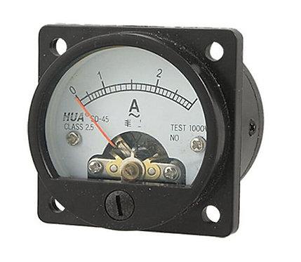 Misuratore amperometro misuratore di corrente analogico rotondo 0-3A Heschen ner