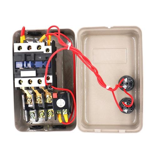 Controllo motore di avviamento magnetico di fase QCX5-11KW 14-22A 24V AC contatt