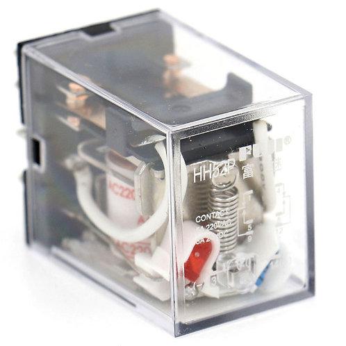 General Purpose Power Relay HH52P AC 220V Coil LED Indicator 8 pin terminal