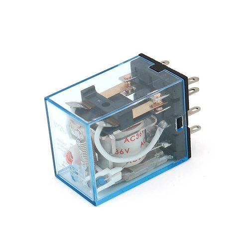 Terminal à usage général MY2NJ AC 36V Indicateur LED à bobine Terminal 8 broches
