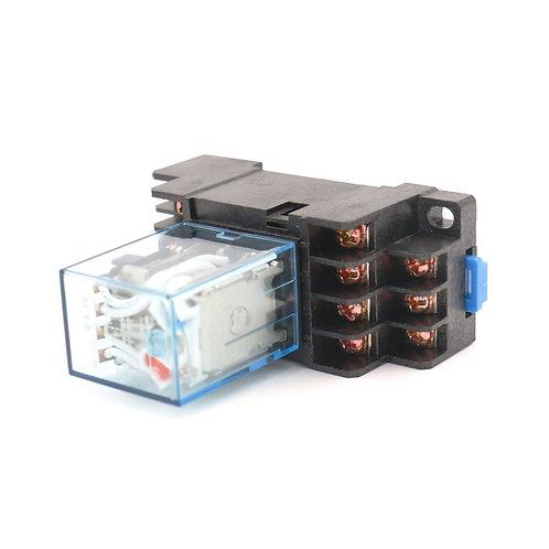 Universal-Leistungsrelais MY4NJ AC 12V Spule LED-Anzeige 14 Pin-Anschluss mit