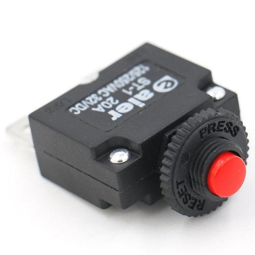 Disjoncteur à CA 125 / 250V 20A de compresseur d'air du protecteur ST-1 de surch