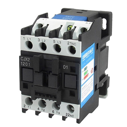 Heschen AC Contactor CJX2-1201 380V 50/60HZ 3 Poles Normally Closed