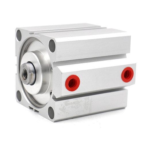 Cilindro de aire fino compacto Heschen SDA 63x40 63mm Diámetro 40mm Carrera PT1