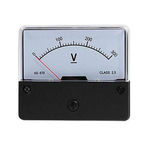 Heschen Dh-670 DC Voltmètre Compteur Analogique 300 Volts