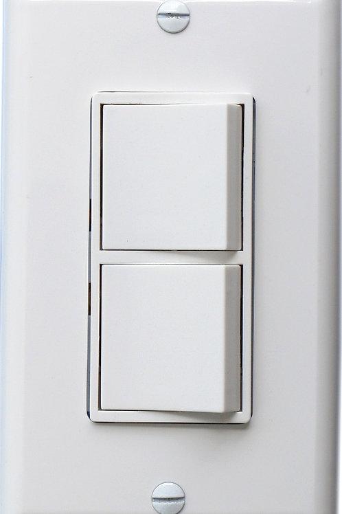 Baomain Duplex Rocker switch 15 Amp, 120 Volt, Single-Pole AC Combination Switch