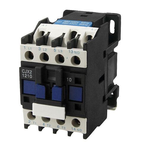 Heschen AC Contactor CJX2-1210 380V 50 / 60HZ 3 polos normalmente abierto