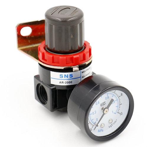 Regulador de tratamiento de fuente de aire Heschen AR-2000 0-1 Rango de medida M