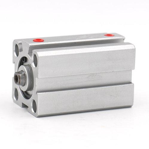 Heschen Compact Thin Air Cylinder SDA 25x40 25mm Bore 40mm Stroke M5 port