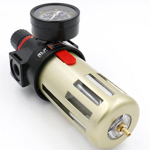 Heschen Air Pneumatic Filter Regulator BFR-2000 Adjustable Polycarbonate Water