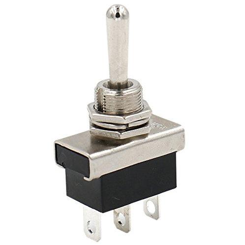 heschen Wippschalter stabile Metall Flick Flip 25 A 12 V SPDT ON/OFF/ON 3 Positi