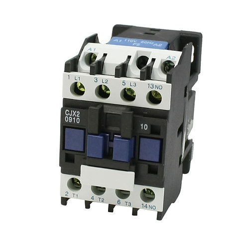 Baomain CJX2-09 Coil Voltage 3 Phase 1NO Motor Control AC Contactor 660V 25A