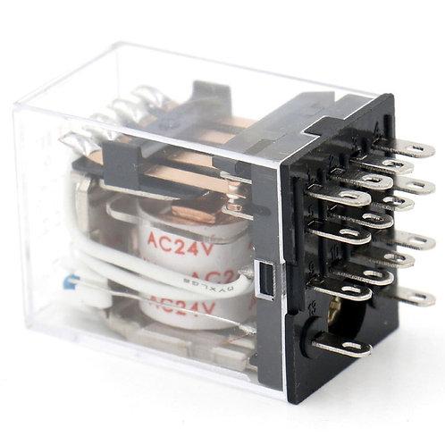 Terminal à usage général HH54P-L AC 24V Indicateur à LED Borne 14 broches