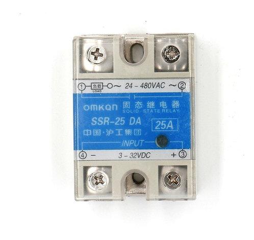 Relé de estado sólido de salida AC 24V-480V 25A de control de temperatura Hesche