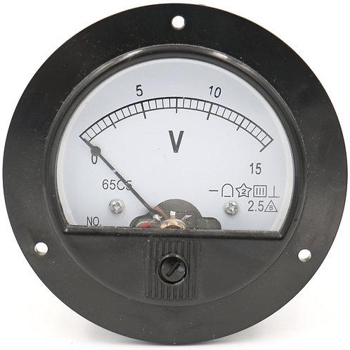 Heschen 65C5 Analogue Panel Meter Volt Tensione Gauge Voltmetro analogico DC 0-1