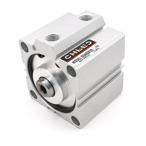 Heschen Compact Thin Air Cylinder SDA 63x35 63mm Bore 35mm Stroke PT1/4 port