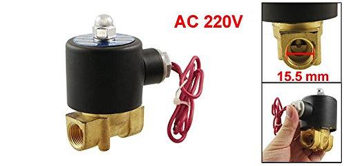 """Heschen 3/8 """"vanne électromagnétique pneumatique à deux voies 2 positions à CA 2"""