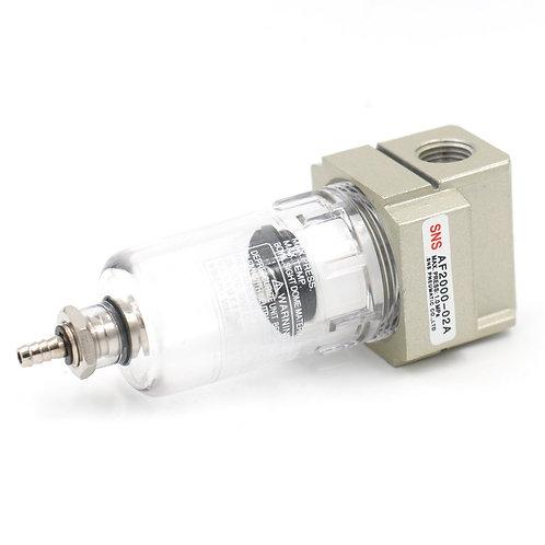 Filtro de aire Heschen AF2000-02 Compresor de aluminio PT1 / 4 40um