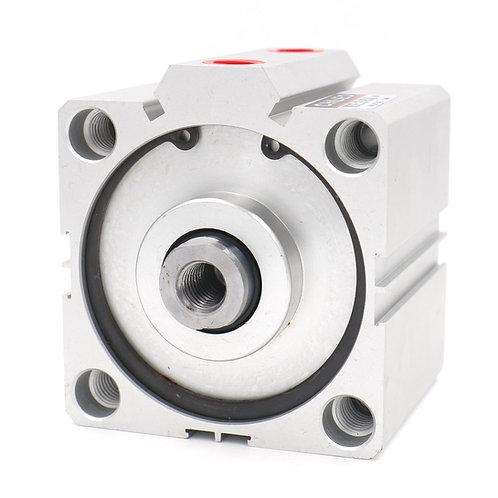 Heschen Compact Thin Air Cylinder SDA 80x25 80mm Bore 25mm Stroke PT3/8 Port