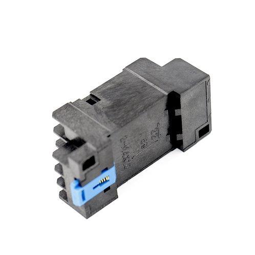 Heschen AC 220V H3Y-4 Temporizador de estado sólido de relé de retardo 0-60S 4PD