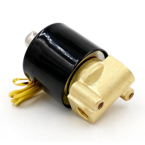 Vanne électromagnétique électrique en laiton de Heschen 1/8 pouce pour la valve