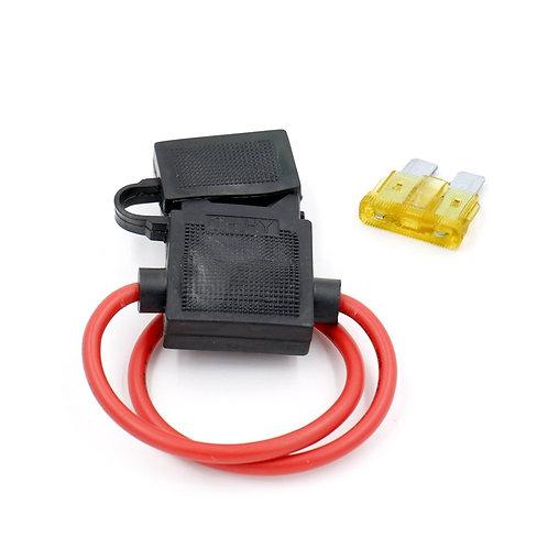 Fusible de Circuito del Automóvil Portafusibles Impermeable ATC ATO (incluye Fus