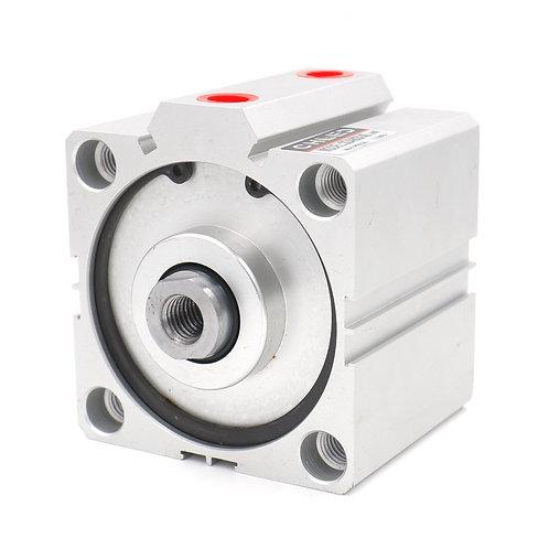 Heschen Compact Thin Air Zylinder SDA 80x30 80mm Bohrung 30mm Hub PT3 / 8 Port