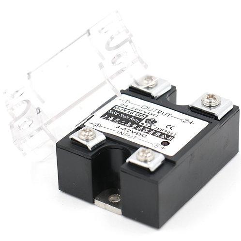 Relais statique à semi-conducteurs de phase de signal de Heschen SSR-100DD 100A
