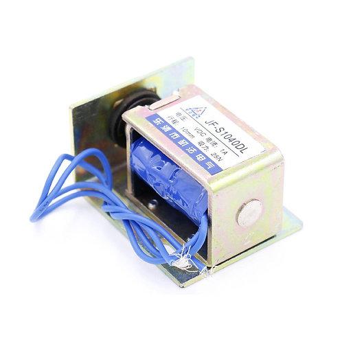Heschen Solenoid Elektromagnet JF-S1040DL 12V 2,5 kg Kraft Energieeinsparung DC