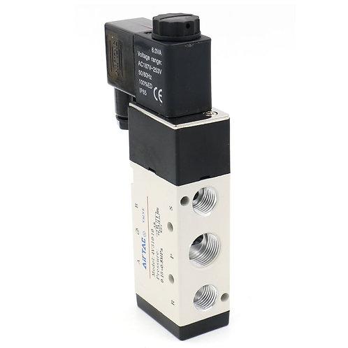 "4V310-10 5Ports2Posizionamento Valvola pneumatica singola elettrovalvola 3/8 ""BS"