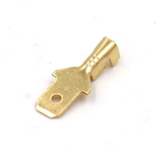 Terminali a crimpare Quick Splice Spades Connettore a crimpare 4.8mm Non isolati
