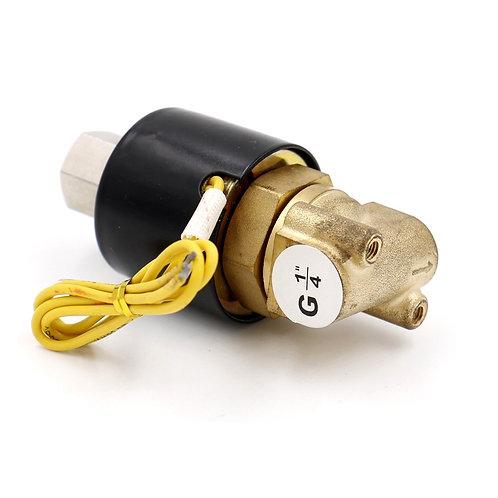 Electrovanne électrique en laiton Heschen PT1 / 4 CA 220V 2 voies 2position
