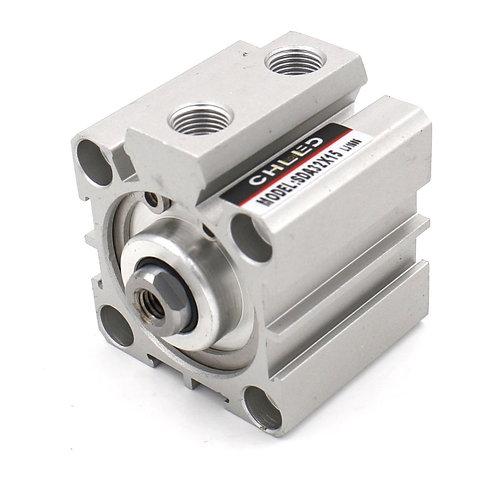 Heschen Compact Thin Air Zylinder SDA 32x15 32mm Bohrung 15mm Hub PT1 / 8 Port