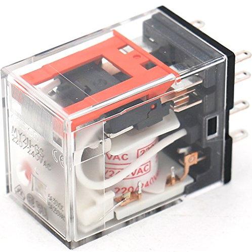 Heschen Power Relay MY2N-GS AC 220V-240V Indicatore LED a bobina Terminale a 8 p