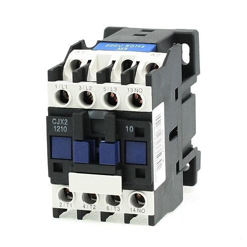 Heschen AC Contactor CJX2-1210 220-240V 50/60HZ 3 Poles Normally Open