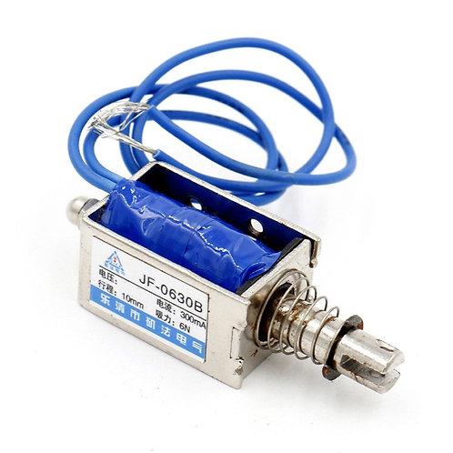 Électroaimant Heschen solénoïde JF-0630B DC 12V 300mA 10mm 6N Push Pull