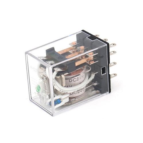 Relè di potenza per uso generico HH53P DC 24V Indicatore LED a bobina Terminale