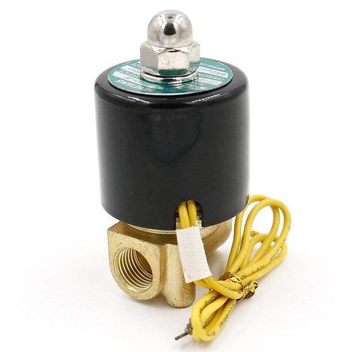 heschen Messing Elektrisches Magnetventil 1/4 Zoll DC 12 V Direct Action Wasser