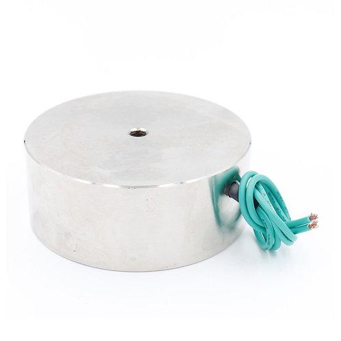 Heschen 264.5LB / 120kg Magnete di sollevamento a forza Elettromagnete Solenoide