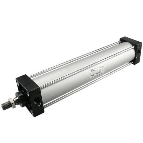 Heschen Pneumatic Air Cylinder SC 63 x 300 PT 3/8 Screwed Piston Rod Dual Action