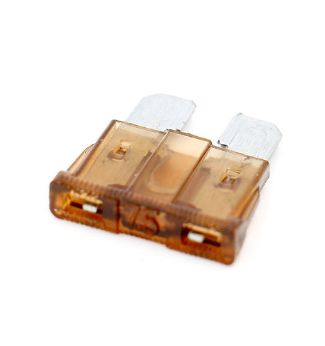 Fuses ATC-7.5 7.5A Fast-Acting fuse for Automotive Car Truck Brown 25 Pack