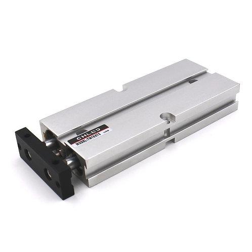 Heschen Air Cylinder TN-16X75 Aluminum Alloy Double Rod Guided Pneumatic