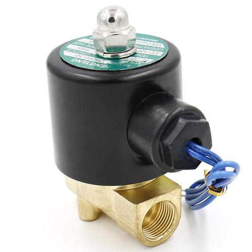 heschen Messing Elektrisches Magnetventil 3/8 Zoll DC 12 V Direct Action Wasser
