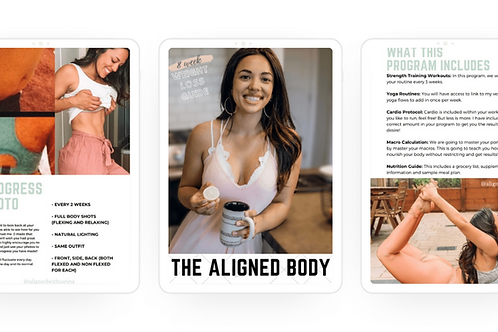 The Aligned Body E-book