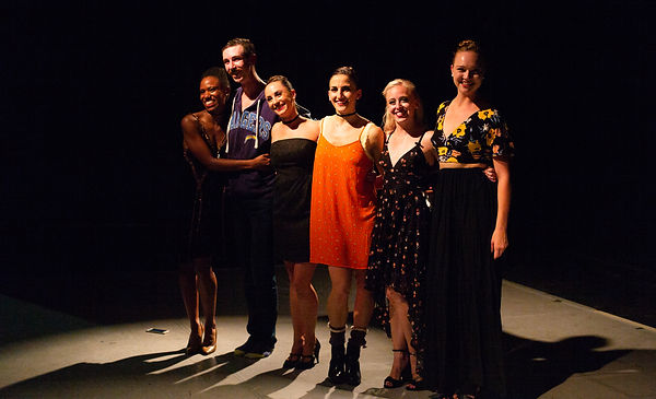 Dancers and founder of The Rosin Box Project