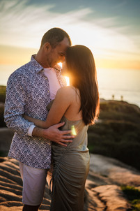 Sunset Cliffs San Diego connection engagement wedding photo shoot by Carly Topazio Photography