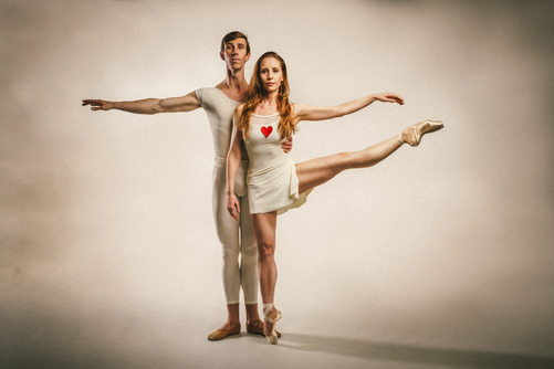 Commercial ballet and dance photography by San Diego portrait photographer Carly Topazio Photography