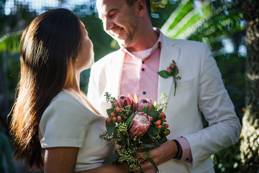 Balboa Park San Diego connection engagement wedding photo shoot by Carly Topazio Photography